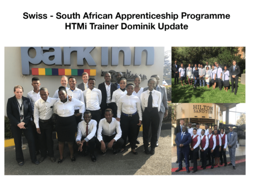Swiss – South African Apprenticeship Programme – HTMi Trainer Update