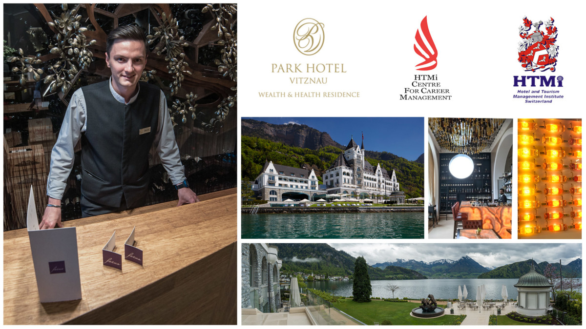 Congratulations to Mr. Ciprian Voinea for a great career progression with the award winning Park Hotel, Vitznau, Lake Luzern, Switzerland.