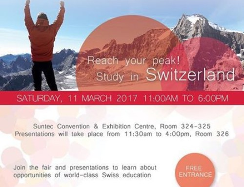 Join HTMi at the Swiss Education Fair in March
